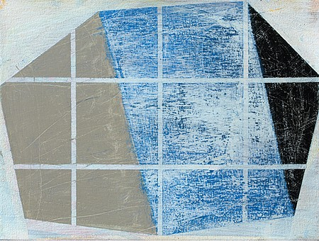 David Row ,   Site Lines  ,  2011     Oil on canvas ,  12 x 16 in. (30.5 x 40.6 cm)     DR836     DRO-014