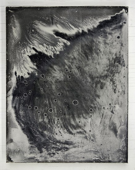 James Buss, Untitled cast 2016, plaster, relief ink