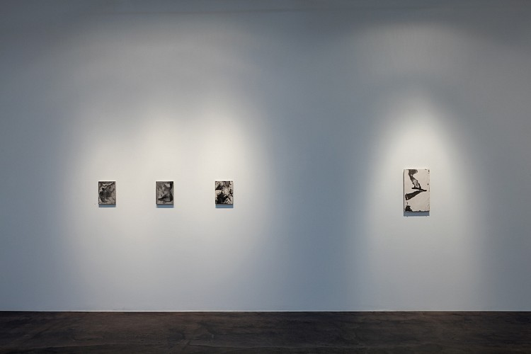 James Buss: the poem's four corners - Installation View
