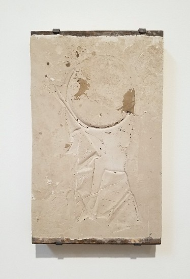 James Buss, Untitled cast 2018, Plaster, concrete